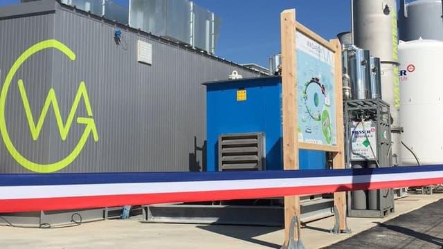 La Wagabox produit du biométhane à partir de déchets ménagers issus du site de Saint-Florentin (Yonne) de la Coved.