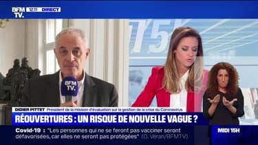 """Pr Didier Pittet: """"Il y a évidemment un risque de 4e vague."""""""