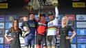 Greg van Avermaet, entouré de Keukeleire et Sagan
