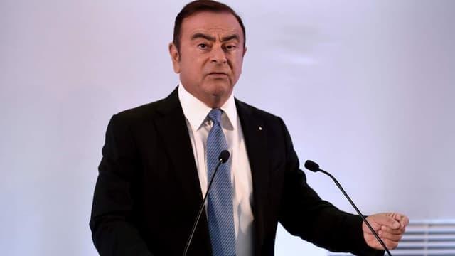 Carlos Ghosn, PDG de Renault