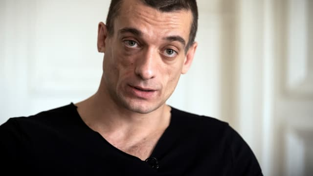 Piotr Pavlenski le 14 février 2020 à Paris