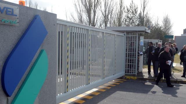 L'usine PSA d'Hordain (Nord) fabrique des véhicules utilitaires.