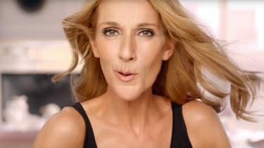 Céline Dion dans la publicité L'Oréal Paris