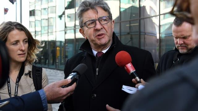 Jean-Luc Mélenchon le 24 septembre 2018.