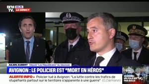 """Julien Aubert: """"Il faut que les criminels comprennent que s'attaquer à la police leur coûtera très très cher"""""""