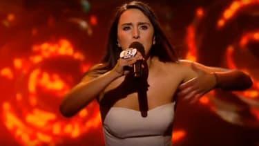 Jamala, la candidate qui défendra les couleurs de l'Ukraine au concours de l'Eurovision.