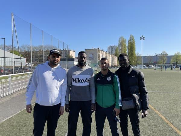 Wahid Mahrez et les amis de Riyad (Bocar, Youssef et Ibrahima)