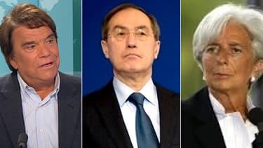 Claude Guéant et Christine Lagarde font partie des nombreuses personnalités impmliquées, d'une manière ou d'une autre, dans l'affaire Tapie-Lagarde.
