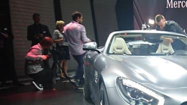 L'AMG GT Roadster dévoilée ce 28 septembre en première mondiale