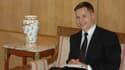 Boris boillon au Ministère des Affaires Etrangères Tunisien en janvier 2012