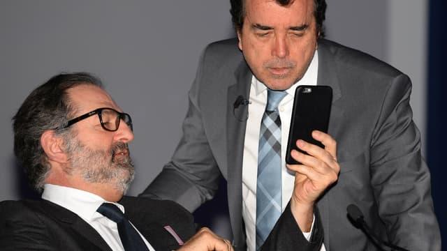 Arnaud Lagardère prend lui-même le poste de président d'Europe 1, à la place de Denis Olivennes