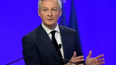 Le ministre de l'Economie Bruno Le Maire, le 5 janvier 2021 à Paris