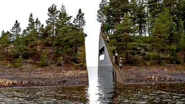 Le projet de mémorial de Jonas Dahlberg a été choisi à l'unanimité par les membres du jury.
