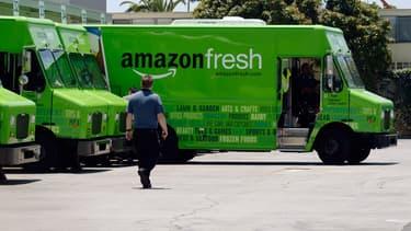 """Pour le patron d'Amazon France, """"l'alimentaire est un axe de développement fort""""."""