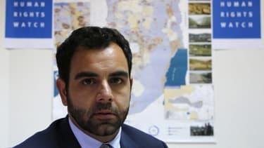 Omar Shakir, le directeur du bureau de HRW pour Israël et les Territoires palestiniens.