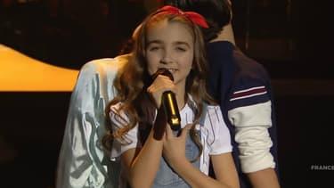 Angelina à l'Eurovision junior