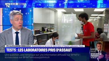Tests : les laboratoires pris d'assaut - 11/07