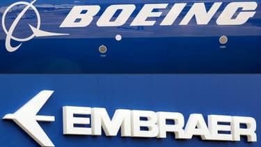 Boeing devait prendre le contrôle de 80% d'une co-entreprise comprenant la division d'Embraer pour 4,2 milliards de dollars