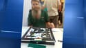 Nigel Richards lors du championnat du monde de Scrabble francophone, à Bruxelles.