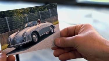 François Allain, féru de Peugeot 204, s'est construit une jolie collection de voitures au fil du temps.