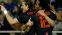 Buteur, l'ancien attaquant de Manchester permet à l'Atlético de réaliser une belle opération contre Valence.