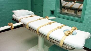 L'exécution d'un condamné à mort, aux Etats-Unis, a été repoussée à la suite de doutes sur l'un des produits utilisés dans l'injection létale. (Photo d'illustration)