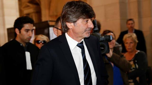 Michel Neyret, lors d'une audience au tribunal en 2016.