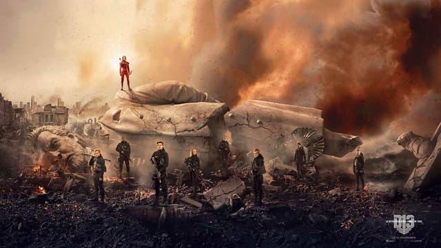 """L'épilogue de la saga """"Hunger Games"""" a franchi la barre des 100 millions de dollars dès sa sortie."""