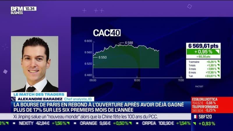 Le Match des traders : Alexandre Baradez VS Jean-Louis Cussac - 01/07