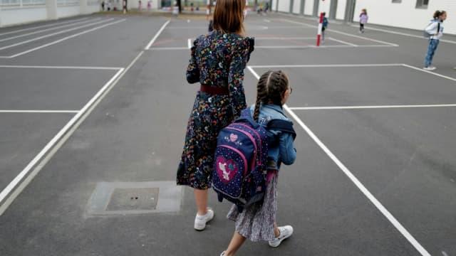 Rentrée dans une école élémentaire à Toulouse, le 1er septembre 2020