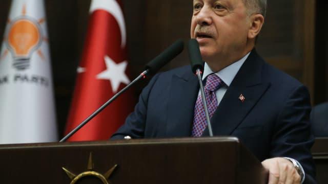 Erdogan le 26 février 2020 à Ankara.