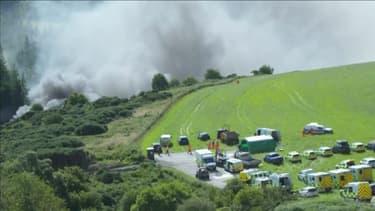 Un train a déraillé en Ecosse, dans le Nord-Est du pays, faisant plusieurs morts et blessés graves.