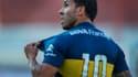 Carlos Tevez sous le maillot de Boca Juniors