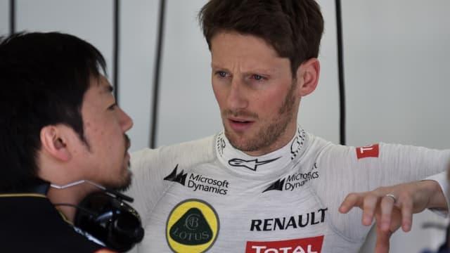 GP de Chine : Romain Grosjean