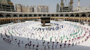 Le pèlerinage à La Mecque a débuté ce 29 juillet, avec la distanciation sociale qui s'impose.