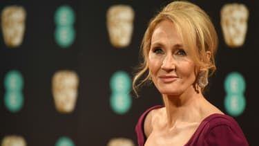 J.K. Rowling à Londres en 2017