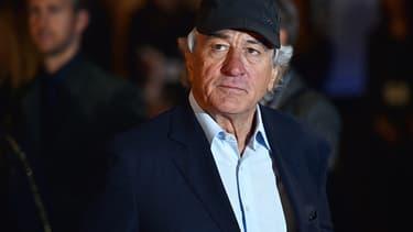 Robert De Niro à Londres le 27 septembre 2015