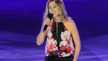 Lara Fabian sur scène en septembre 2016