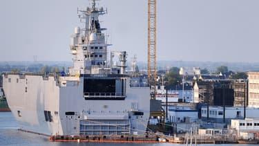 Le groupe DCNS s'est séparé du directeur de projet chargé des navires de guerre Mistral vendus à la Russie.