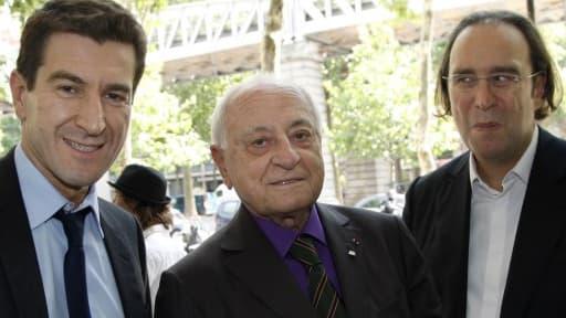 Mathieu Pigasse, Pierre Bergé et Xavier Niel pourraient racheter LCI.