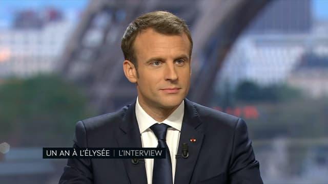 Emmanuel Macron sur BFMTV et Mediapart le 15 avril.