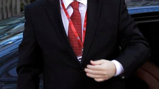 Le président croate Ivo Josipovic à son arrivée à Bruxelles. La Croatie a signé vendredi le traité d'adhésion à l'Union européenne qui doit lui permettre de devenir en juillet 2013 le 28e pays du bloc communautaire. /Photo prise le 9 décembre 2011/REUTERS