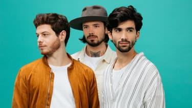 Jérôme, Florentin et Yoann, les trois musiciens d'Arcadian