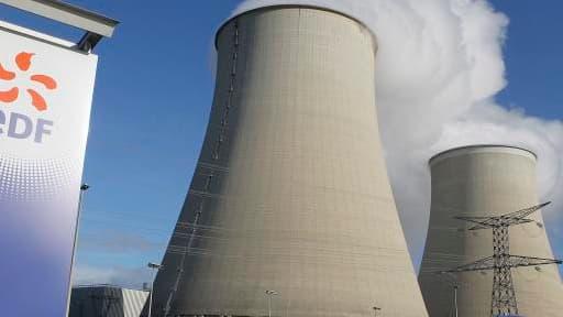 La centrale nucléaire d'EDF de Nogent-sur-Marne.