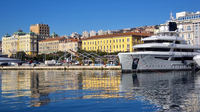 Image d'illustration - Photo de la ville croate de Rijeka