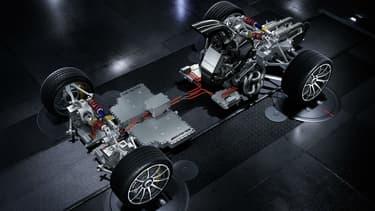 Mercedes-AMG dévoile le coeur de sa bête, son hypercar au moteur de F1
