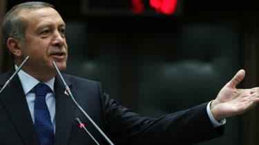 Le Premier ministre turc, Recep Tayyip Erdogan, le 15 avril avril 2014.