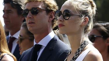 Pierre Casiraghi et Béatrice Borromeo, le 11 juillet à Monaco.