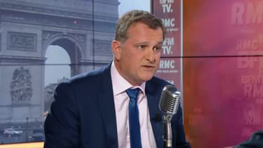 Louis Aliot mardi matin sur BFMTV et RMC.