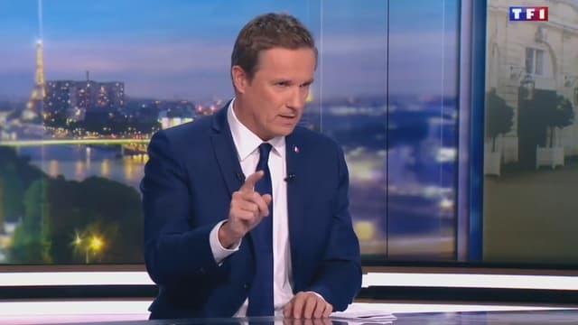 Nicolas Dupont-Aignan au 20h de TF1.